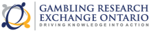 Gambling Research Exchange Ontario Logo