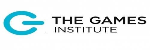 GI logo white