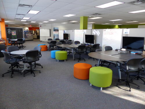 Photo of the collaboration space