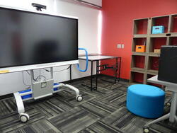 Presentation Room Touch Screen