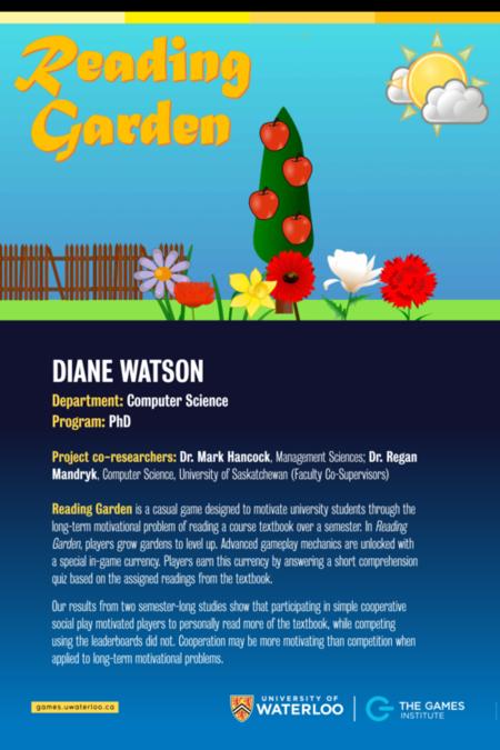 Reading Garden poster