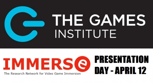 The Games Institute and IMMERSe presentation day.