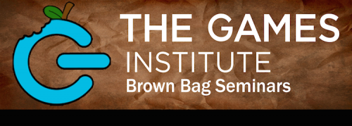 Large Games Institute Brown Bag logo