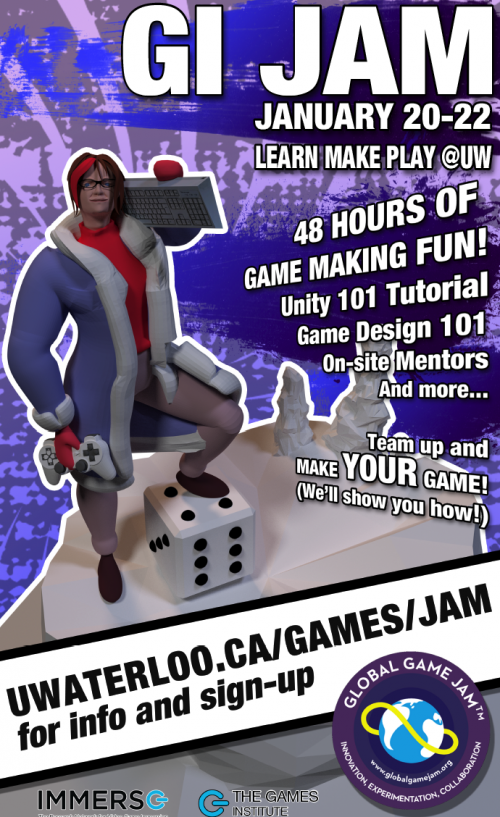 GI Jam Winter 2017 Poster