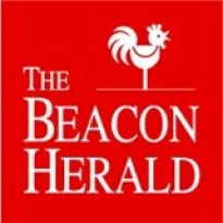 The Stratford Beacon Herald logo.
