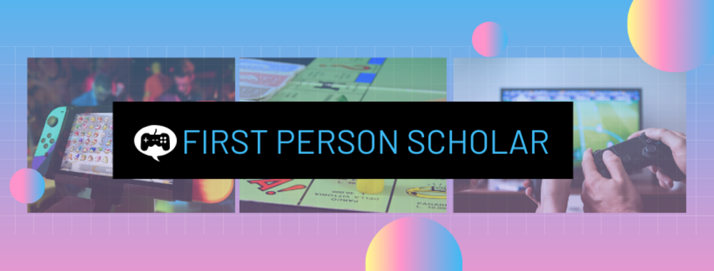 First person scholar pink and blue