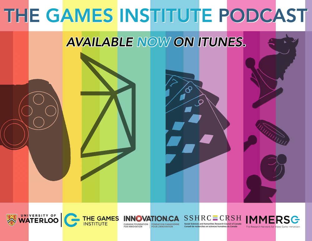 Games Institute podcast poster