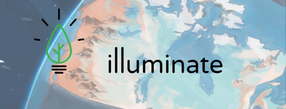 Illuminate homepage banner