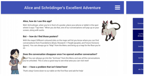 Alice and Schrodinger's Screen play