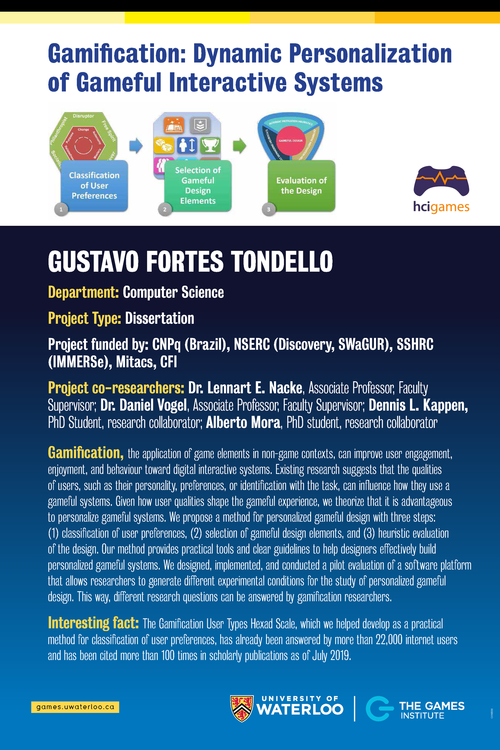 Dynamic Personalization of Gameful Interactive Systems poster