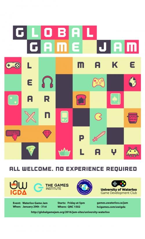 Global Game Jam Poster 2016