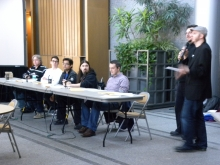 """Make a Game or DIY Trying"" event panelists."