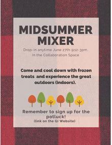 MidSummer Mixer Poster