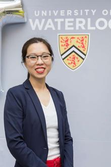 Tina Chan Smiling, Torso Shot