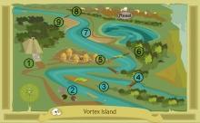 Vortrex Island Map