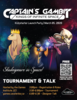 Poster for the Captain's Gambit Launch Party