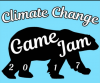 climate change game jam logo