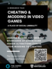 Cheating and Modding Event Poster