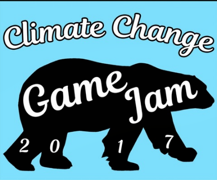 climate change game jam logo