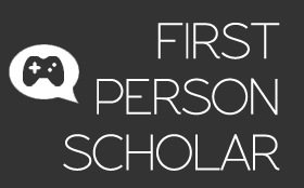 First Person Scholar logo.