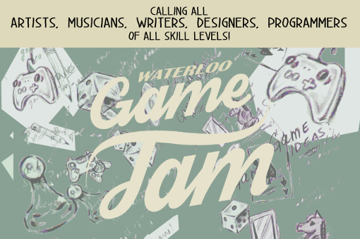 Waterloo Game Jam Poster