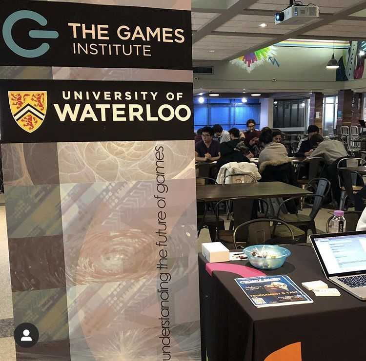 Games Institute banner at Concept by Velocity KT Workshop