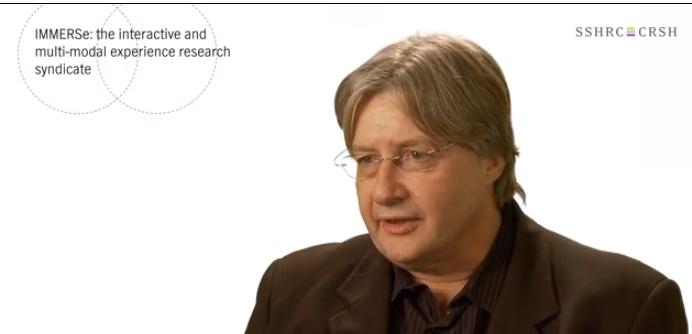 Neil Randall's SSHRC video interview.