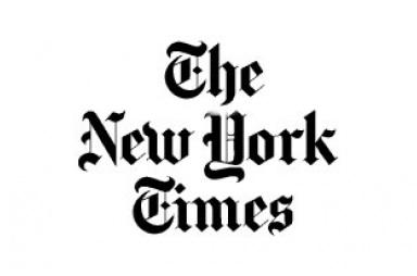 New York Times logo.