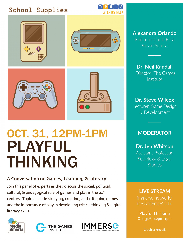 Playful Thinking Poster Image