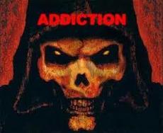 Addiction image: skull