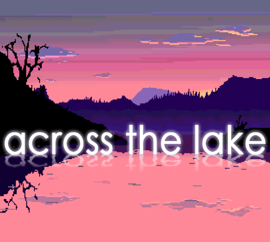 Across the lake art