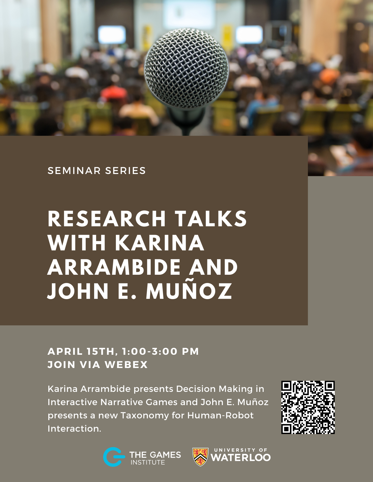 Research talks with Karina Arrambide and John E. Munoz