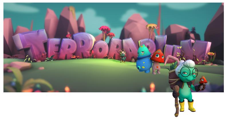 Terrorarium Game Banner
