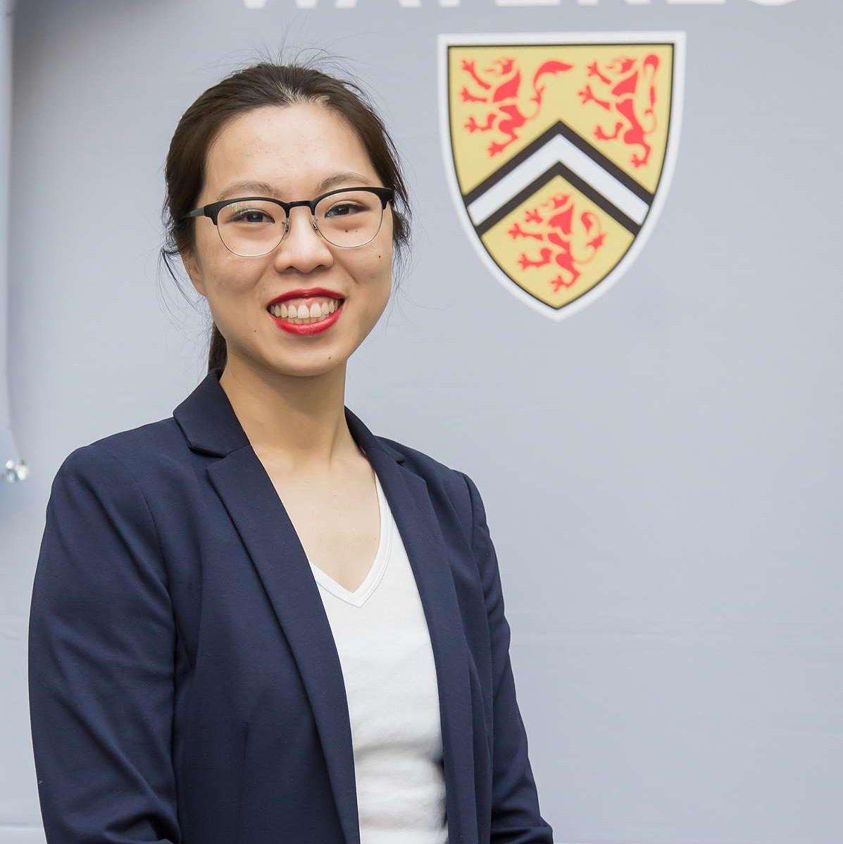 Tina Chan smiling