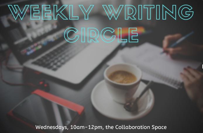 Weekly Writing Circle Banner