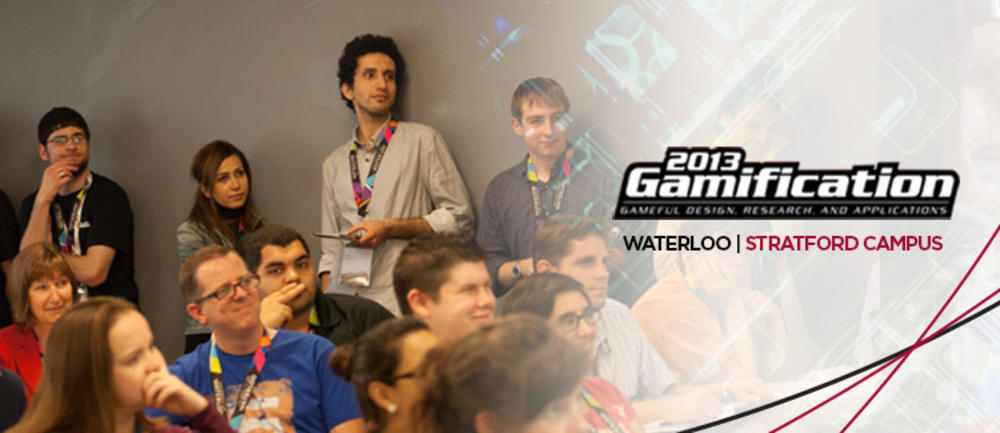 Attendees of Gamification 2013