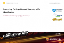 Improving Participation and Learning with Gamification