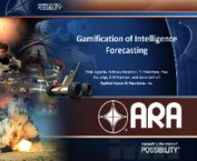 Gamification of Intelligence Forecasting