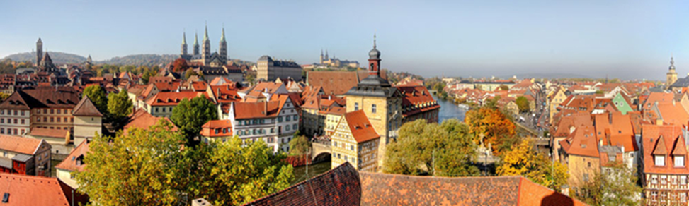 Bamberg city view