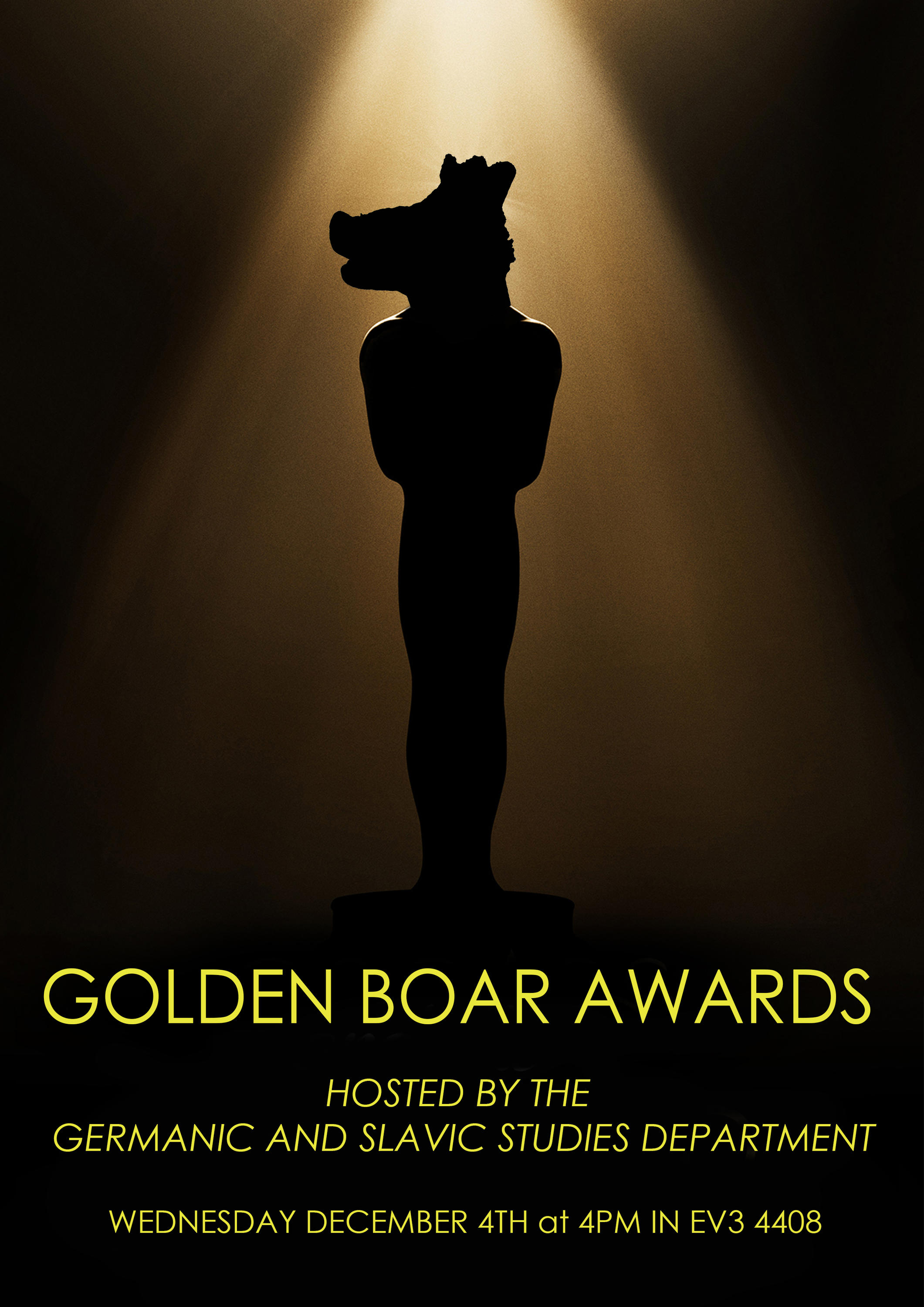 Golden Boar Award poster