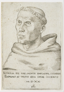 Lucas Cranach picture of Luther