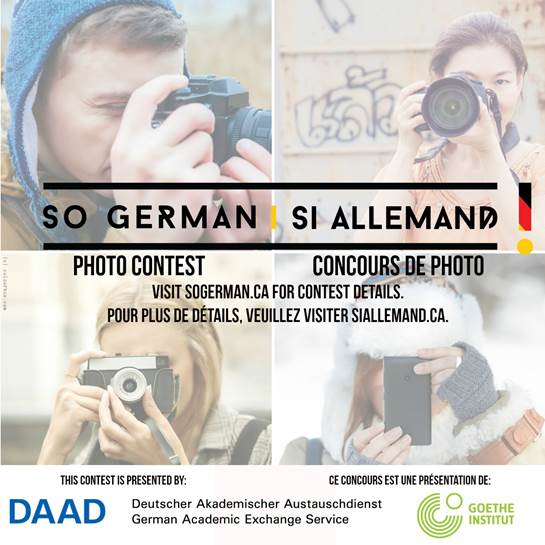 Poster for photo contest