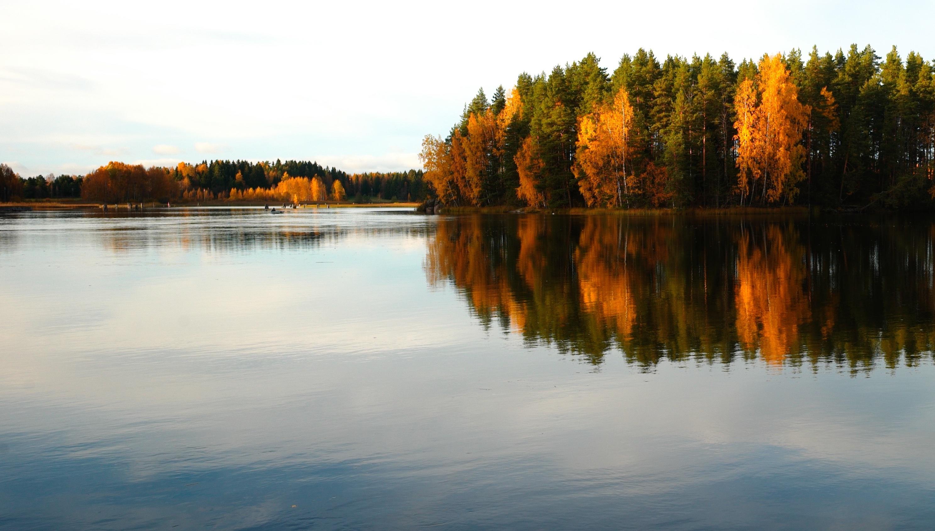 stock image of lake