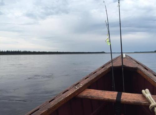James Bay Boat Fishing