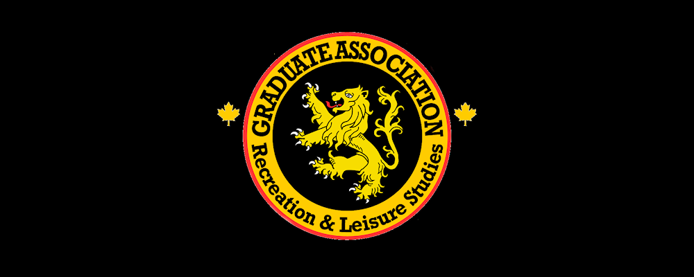 Graduate Association of Recreation and Leisure Studies logo.