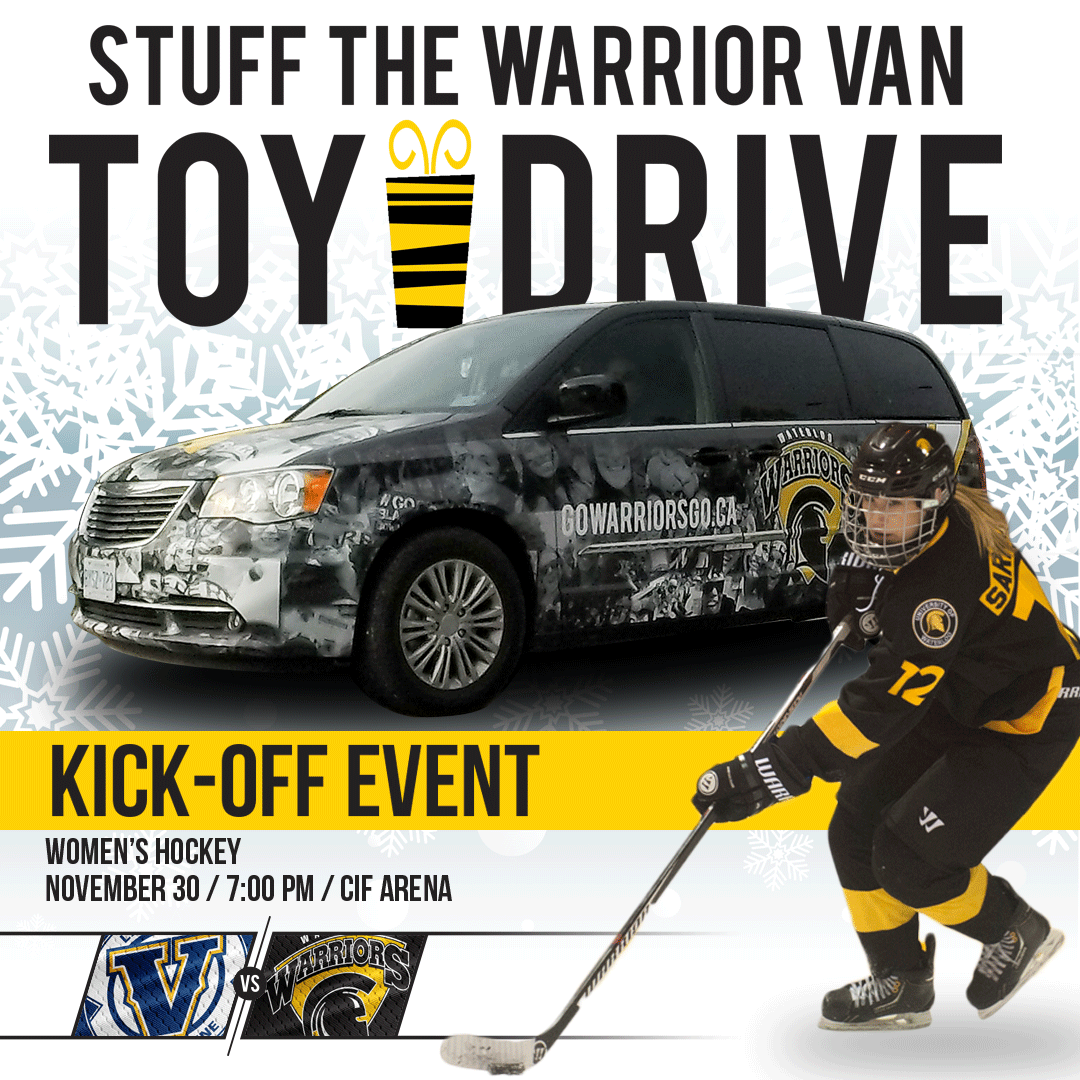 Warrior Toy Drive launch November 30