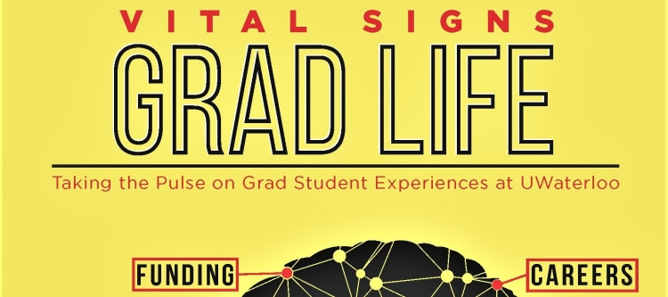 poster of grad life vital signs survey.