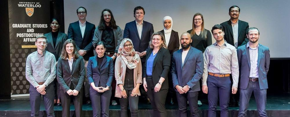 2019 3MT uwaterloo finalists