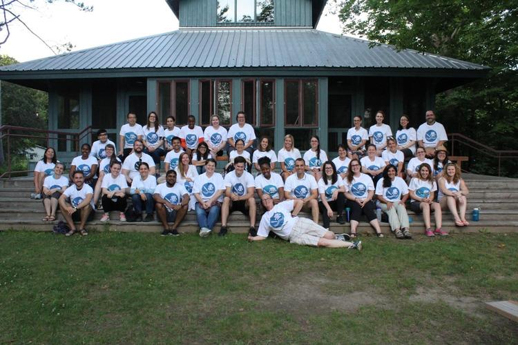 Group photo of all Lake Shift participants