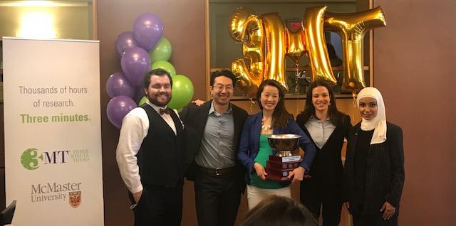 3MT Ontario finalists